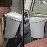 Afvalbakje caravan 6 ltr. met twee ophangsystemen_
