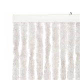 Chenille deurgordijn / kattenstaarten 230 x 100