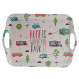 "Camping servies camper/caravan ""Home is where you park it""_"