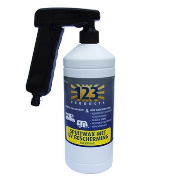 123 superwax UV met ETU sprayer