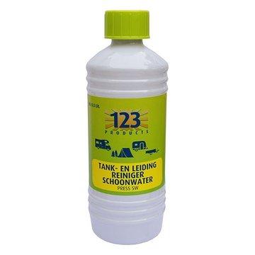 123 Press Tank- en leiding reiniger schoonwater