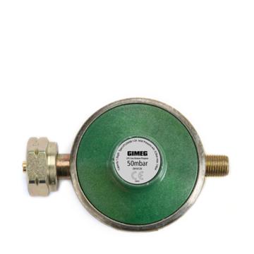 Gasdrukregelaar zonder afblaasbeveiliging 50 MBAR KOMBI X 1/4 INCH LINKS