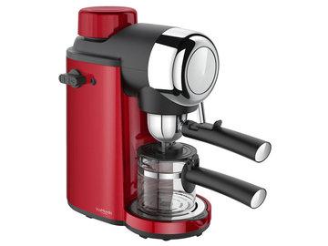 Espresso apparaat Rood, 230V, Via Mondo