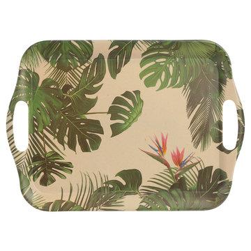 Dienblad Leaves, bamboe, eco