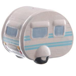 Spaarpot caravan, rond