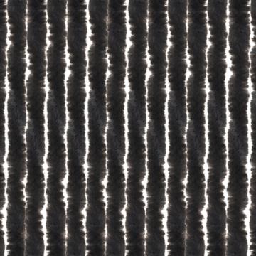 Chenille vliegengordijn (kattenstaarten) Antraciet 56X185CM (caravandeur)
