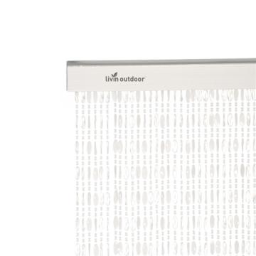 Deurgordijn / vliegengordijn Livin' Outdoor Beats, alum.rail, 230 x 100 cm