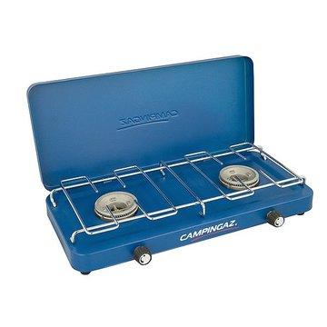 Gaskomfoor - Campingaz- 2-Pits - 2x 1600 Watt met deksel