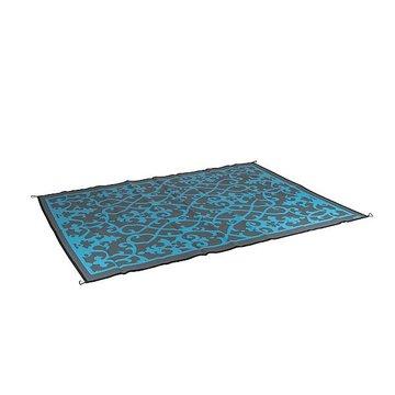 Kleed, Bo-Camp - buitentapijt Azur blauw