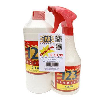 Clean 123 Shampoo pakket